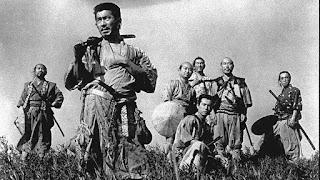 El rodaje de Los siete samuráis