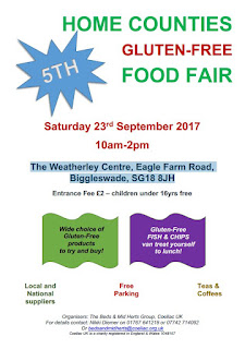 Home Counties Gluten Free Food Fair in Biggleswade