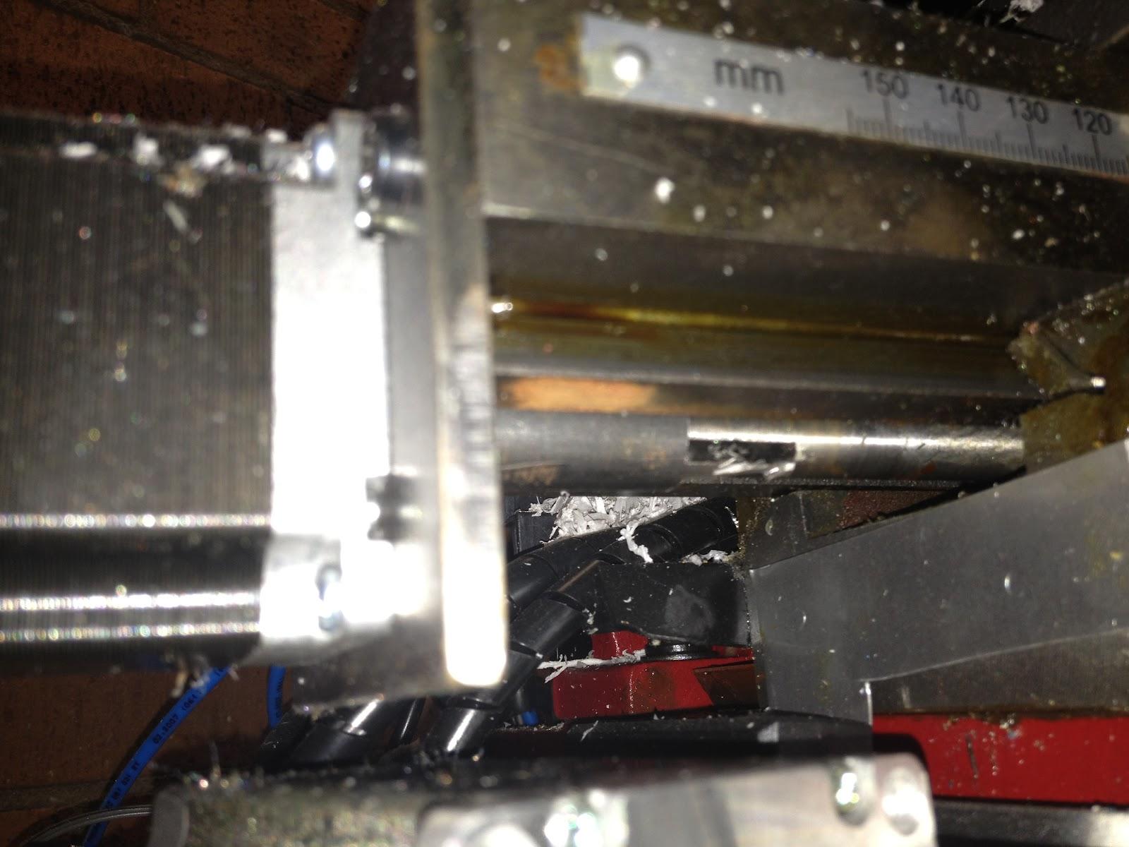 MiniBnz RepRap Build: The X2 Mini Mill CNC build