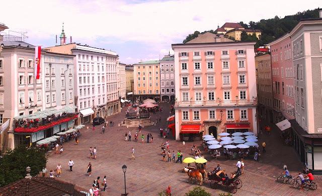 gamla stan i Salzburg