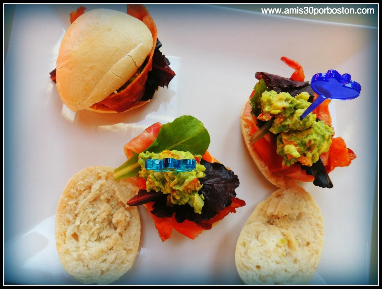 Aperitivos para la Super Bowl: Sweet Panecillos de Beicon y Guacamole
