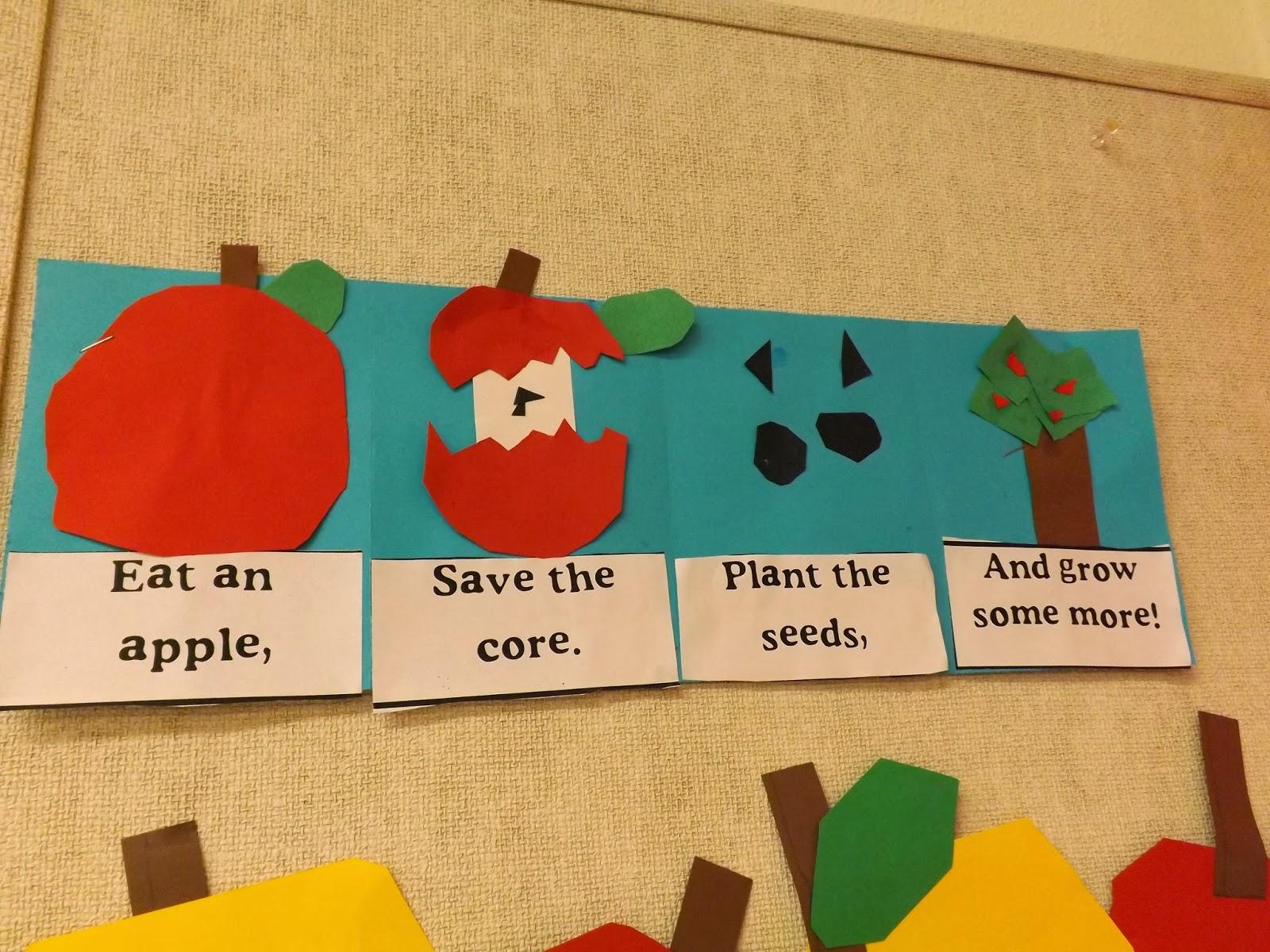 Mrs Vento S Kindergarten Johnny Appleseed Day