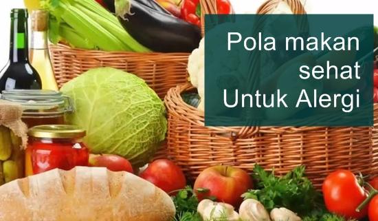 Pola makan untuk alergi