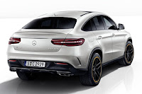 Mercedes-AMG GLE 43 4Matic Coupé OrangeArt Edition (2017) Rear Side