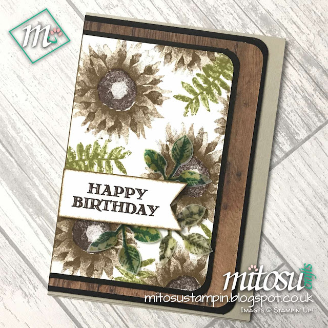 Stampin' Up! Painted Harvest Leaf Punch Buy Stampin Up Craft products from Mitosu Crafts UK Online Shop