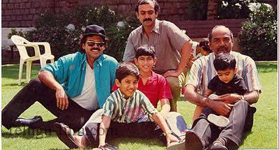 Actor venkatesh family images : Tamil cinema dk films