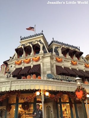 Disneyworld at Halloween