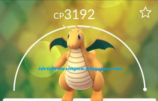 Dragonite Pokemon GO