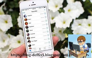 İphone'da Rehberdeki Tüm Kişileri Tek Seferde Nasıl Sileriz