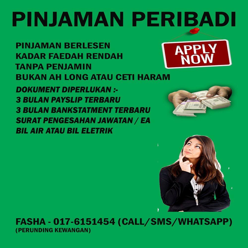 Business Pinjaman Mudah Dan Segera Fasha 017 6151454