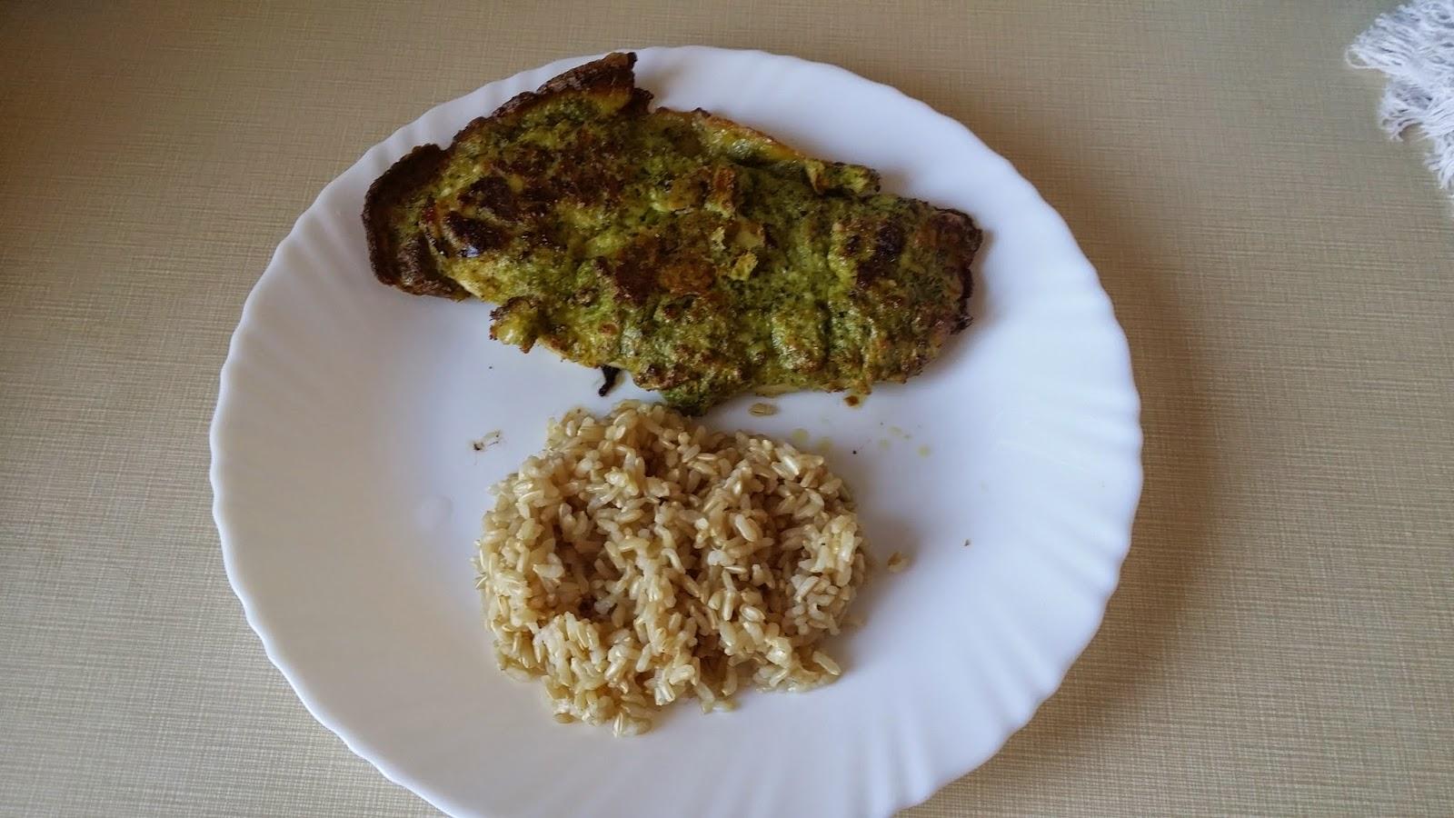 Brokkolis bundában sült csirkemell