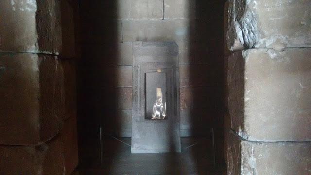Templo de Debod. Interior