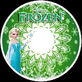Toppers o Etiquetas de Fiesta de Frozen Fever para imprimir gratis.