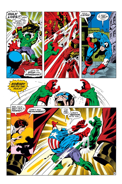Read online Captain America (1968) comic -  Issue #110 - 7