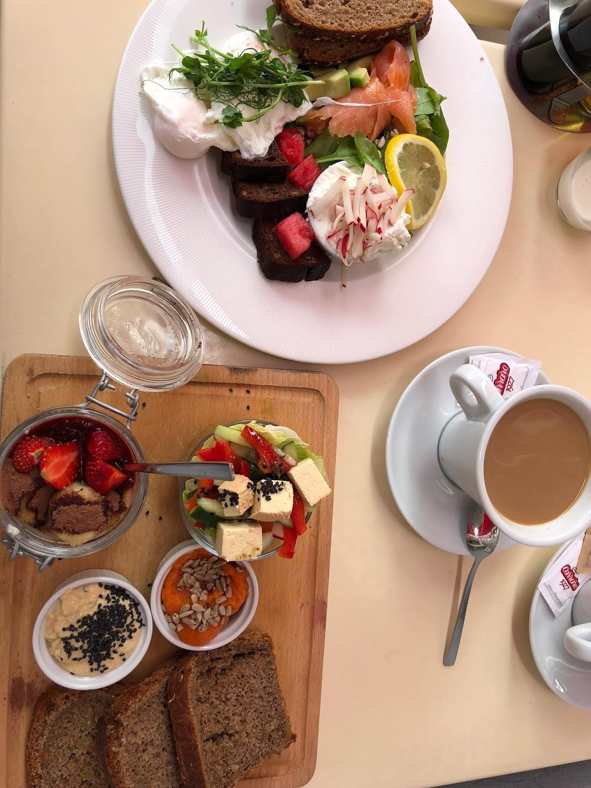 Gdzie warto zjeść w Krakowie, czyli przepyszne śniadanie za 20 zł z kawą w cenie.