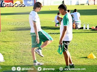 Pablo Zeballos jugador de Oriente Petrolero trabaja para recuperarse de la lesión de su tobillo derecho - DaleOoo