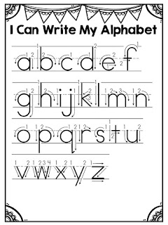 Alphabet ideas for getting back in the swing of things