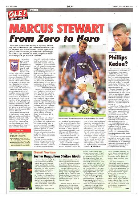 MARCUS STEWART FROM ZERO TO HERO