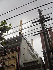 montagne russe sul tetto di una filiale