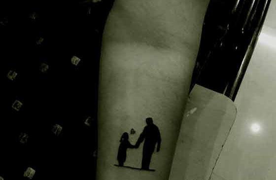 dad memorial tattoos for daughters