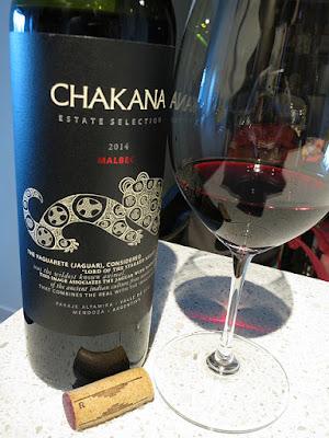 Chakana Estate Selection Malbec 2014 - Luján de Cuyo, Mendoza, Argentina (88 pts)