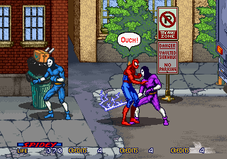Game Dingdong Spiderman