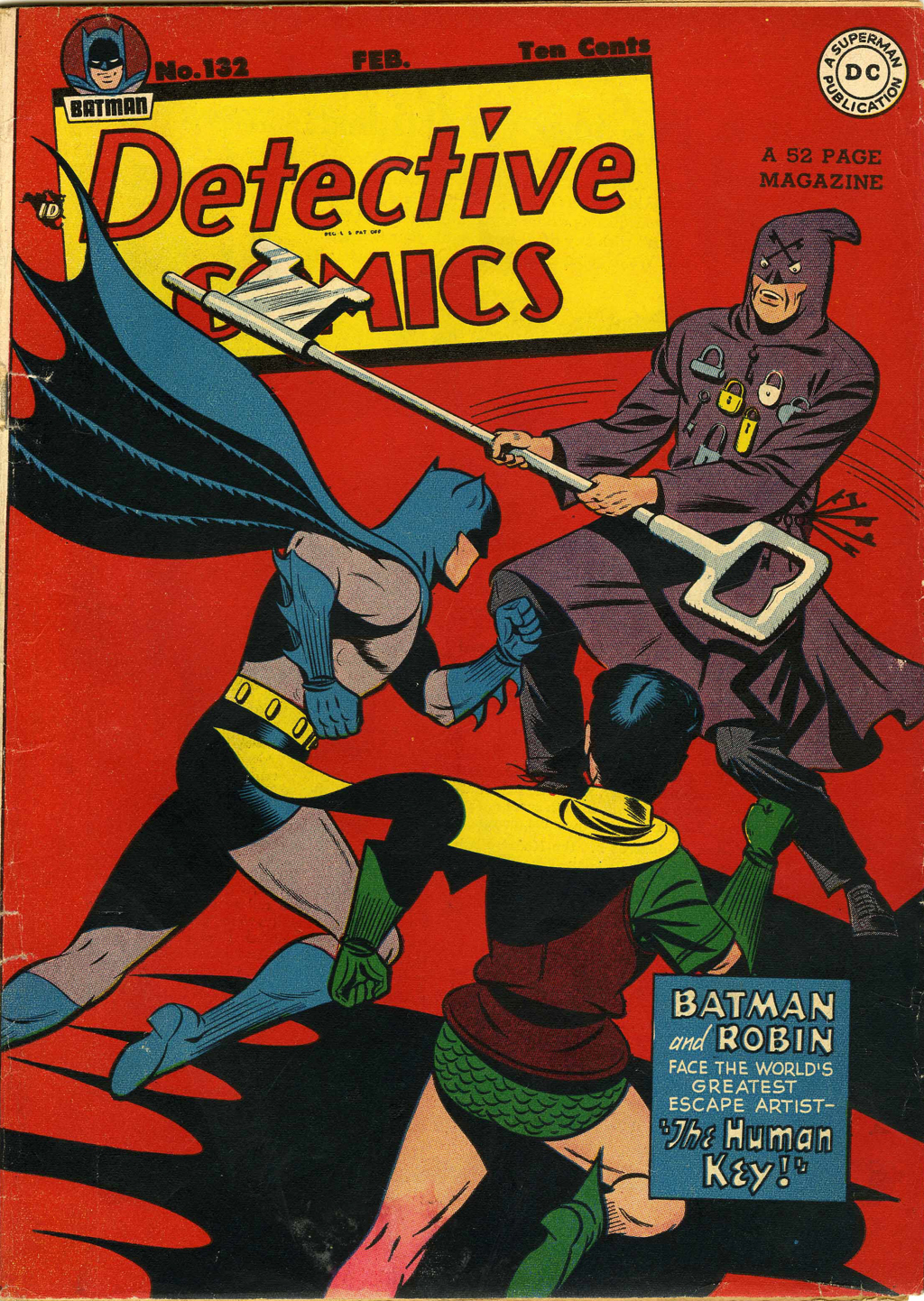Detective Comics (1937) 132 Page 0