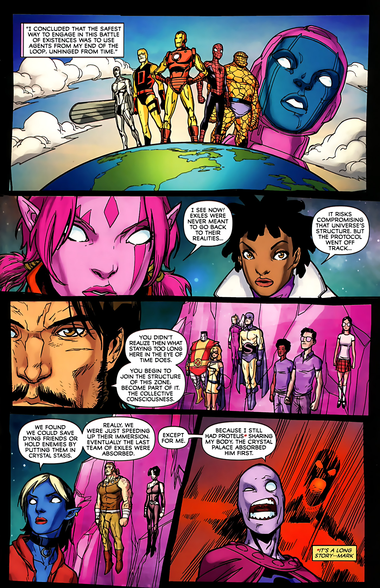 Read online Exiles (2009) comic -  Issue #6 - 32