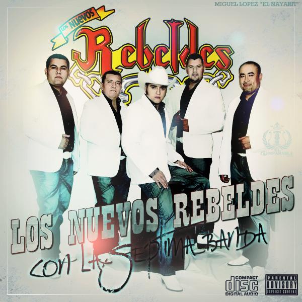 Los Nuevos Rebeldes & La Septima Banda - Luto En El Cielo (2012) (En Vivo)