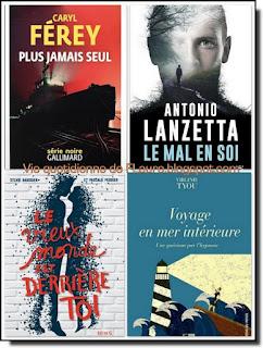 Vie quotidienne de FLaure : Livres présentés pendant le mois de juin 2018