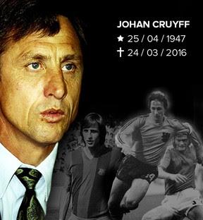 Johann Cruyff, um revolucionário