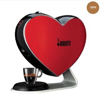Cumpara de aici Espressor Cafea Bialetti forma de inima