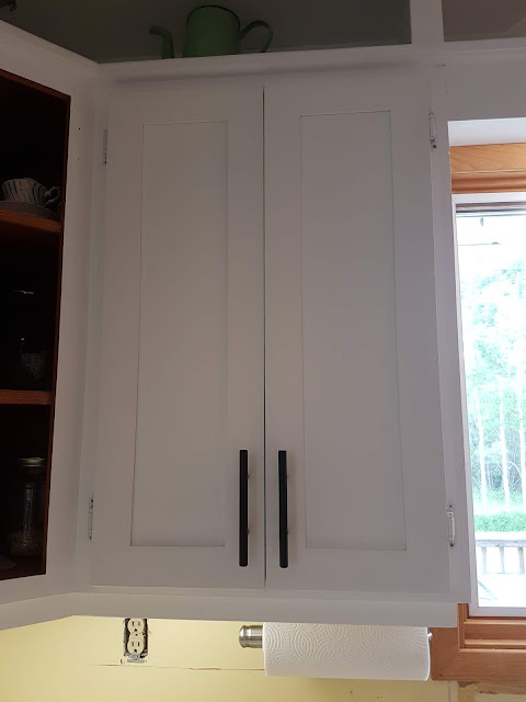 redo cabinets with serenity cottage Paint