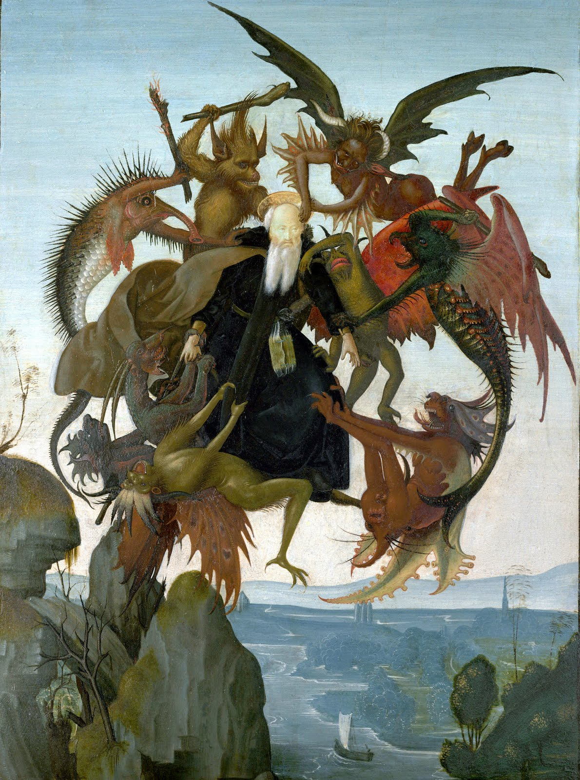 Aesthetic reflections the torment of saint anthony the torment of saint anthony by michelangelo di lodovico buonarroti simoni 1475 1564 is one of his first known paintings and shows saint anthony being biocorpaavc