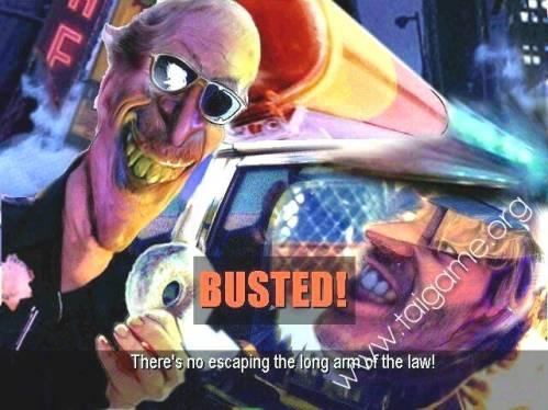 Nostalgia tertangkap polisi Road Rash 1996