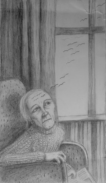 #AideLL #blackwhite #pencildrawing #worrywrincles