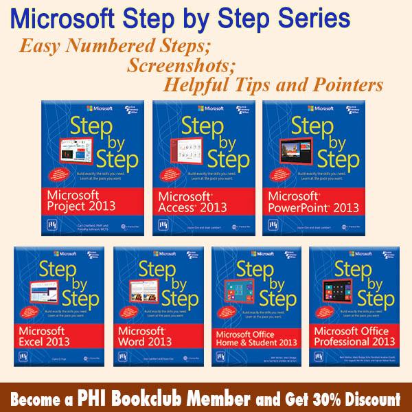 Microsoft Press Step By Step Series