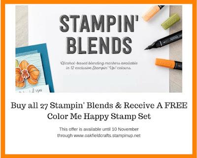 Stampin' Blends, Offer