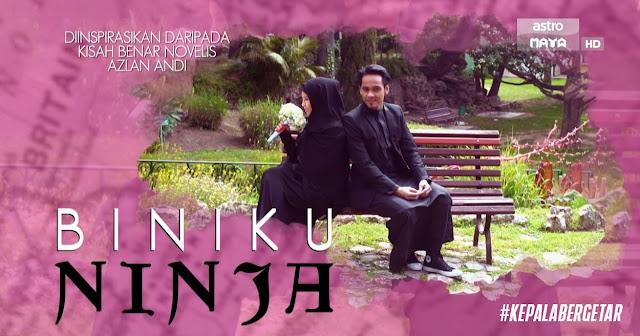 Biniku Ninja Lakonan Jihan Muse Dan Ungku Hariz