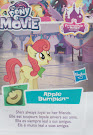 My Little Pony Wave 21 Apple Bumpkin Blind Bag Card