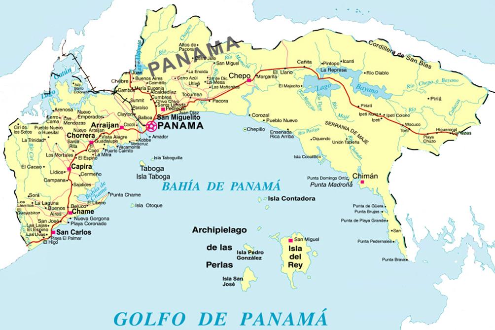 Provincia de Veraguas : Provincia de Panamá