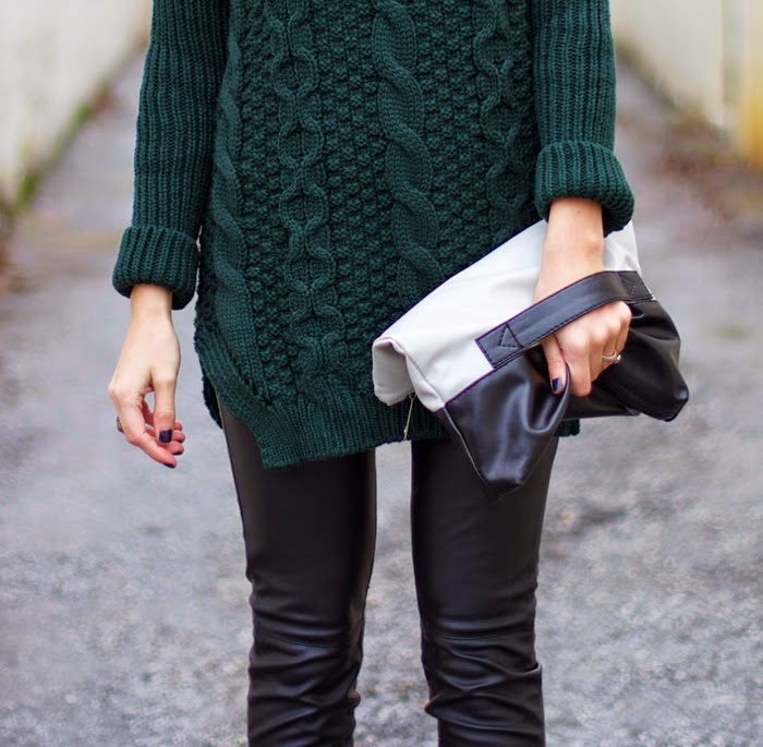 cable-knit-sweater-leather-pants