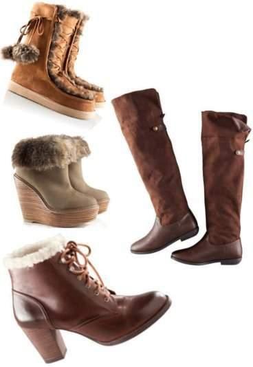 5ab5feb1351b1 Buty H&M, od góry: Botki z imitacji zamszu w kolorze koniakowego brązu,  cena: 99,90zł. Jasnobrązowe buty z imitacji zamszu, na koturnie, cena:  149,90zł