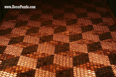 Top Catalogue Of Penny Floor And Copper Penny Tile Floor