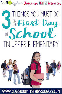 Three things you must do on the first day for a successful school year.