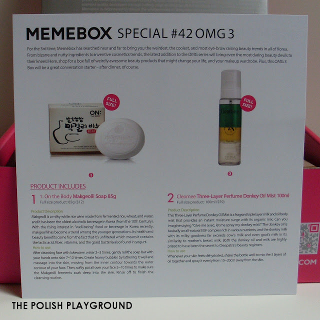 Memebox Special #42 OMG 3 Unboxing