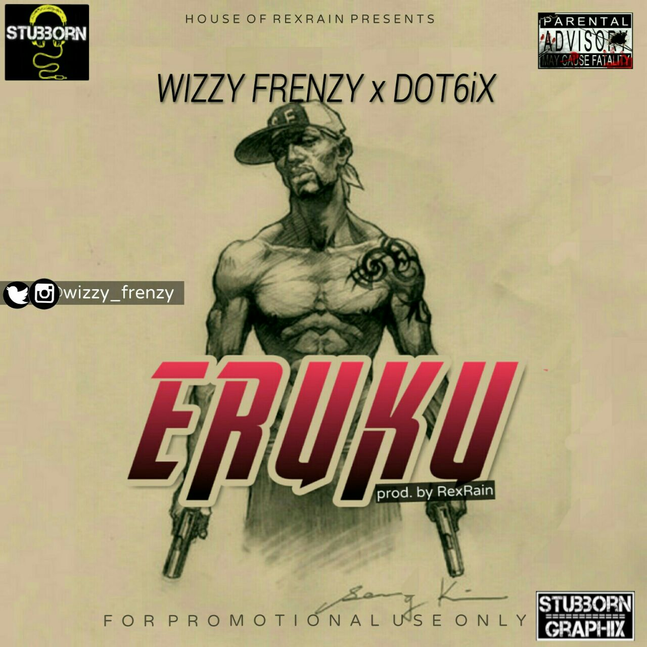 Wizzy Frenzy Ft. Dot6ix - Eruku