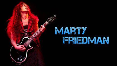 Biografía y Equipo de Marty Friedman