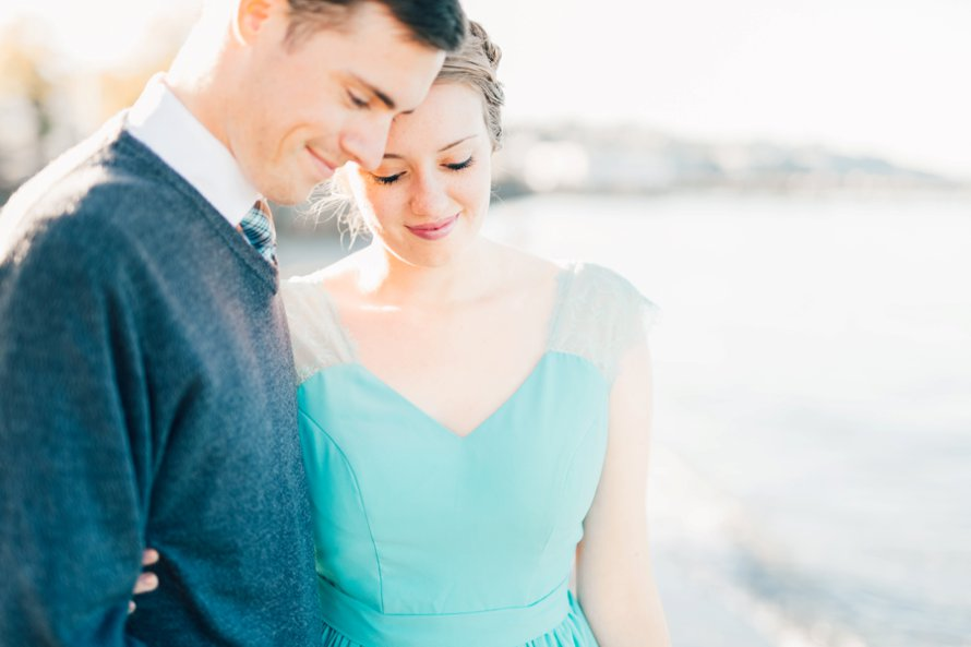 Waterfront Engagement Session by Destination Wedding Photographer Something Minted
