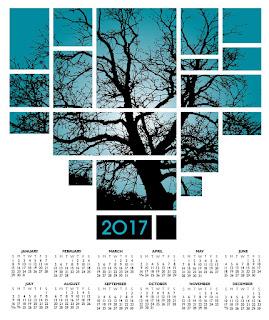 2017カレンダー無料テンプレート69